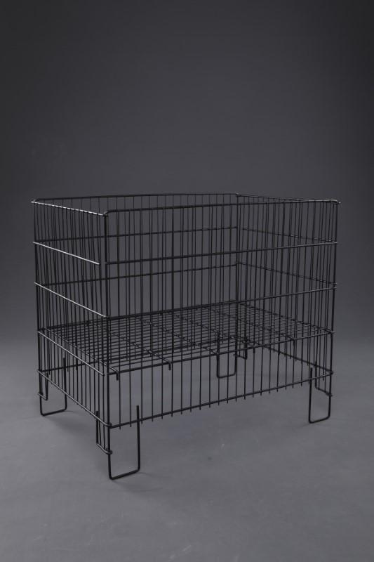 53x80 Siyah Katlanır Sepet