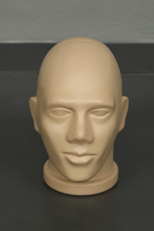 Plastik Erkek Kafa Mankeni