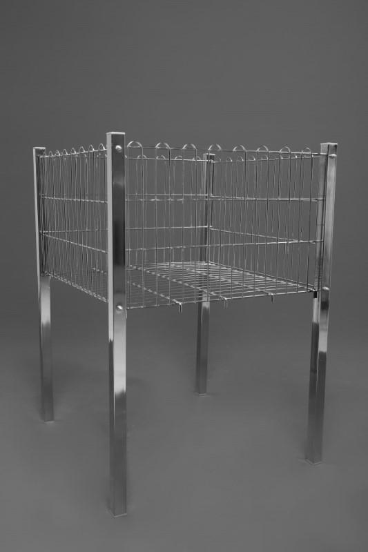 Profil Ayaklı Krom Sepetler