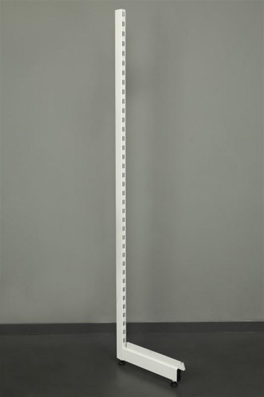 Delikli Fon Beyaz Raflı Stand