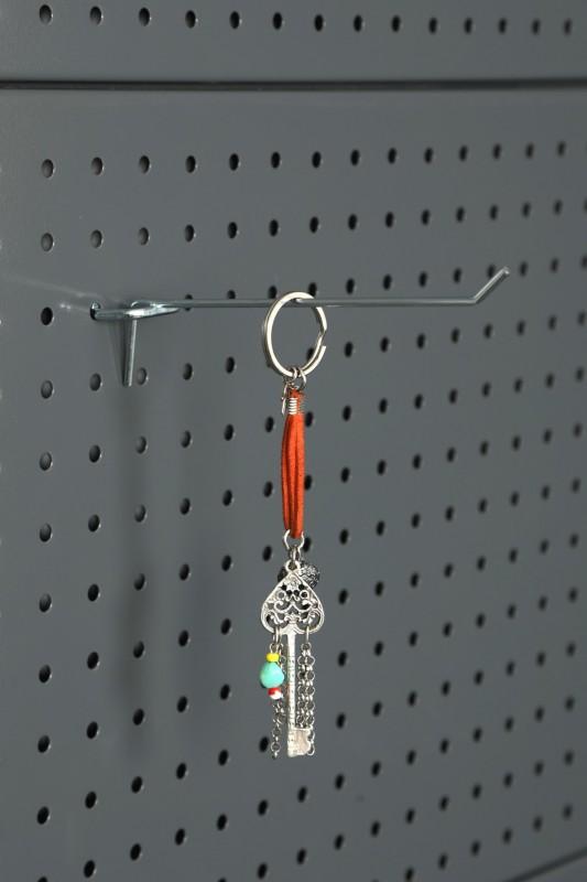 Delikli Fona 3 mm Telden  Anahtar Kancası