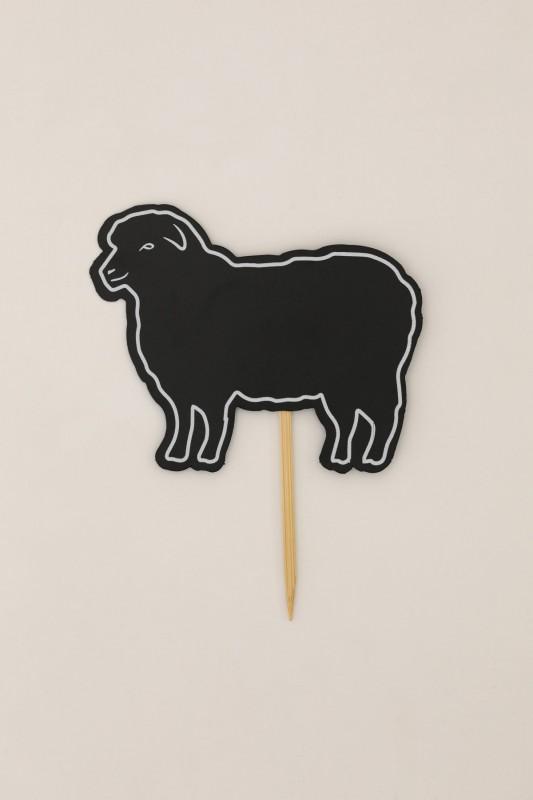 Saplamalı Koyun Figürü Etiketi